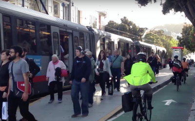Transit, Bikes, And Pedestrians