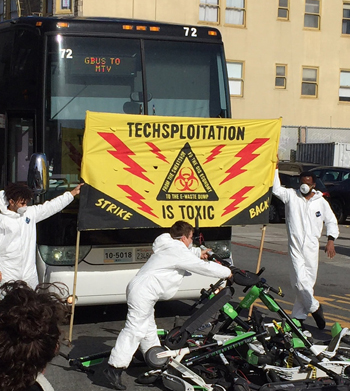 NY, SF media cover SF Tech-Bus Protest