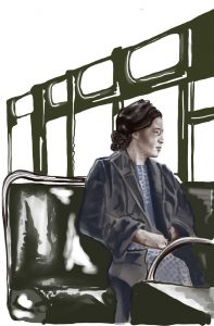 Rosa Parks on bus600x913px